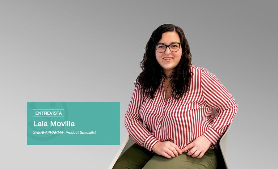 Entrevista a Laia Movilla, Product Specialist en Sherpapharma